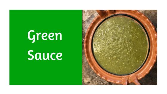Green Sauce