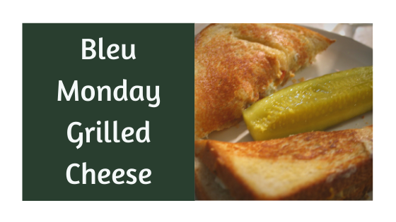 Bleu Monday Grilled Cheese