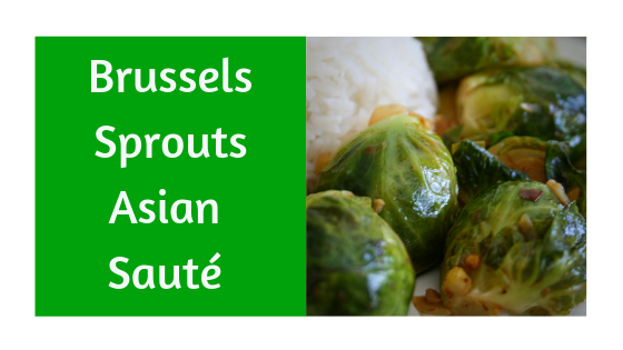 Asian-inspired Brussels Sprouts Sauté