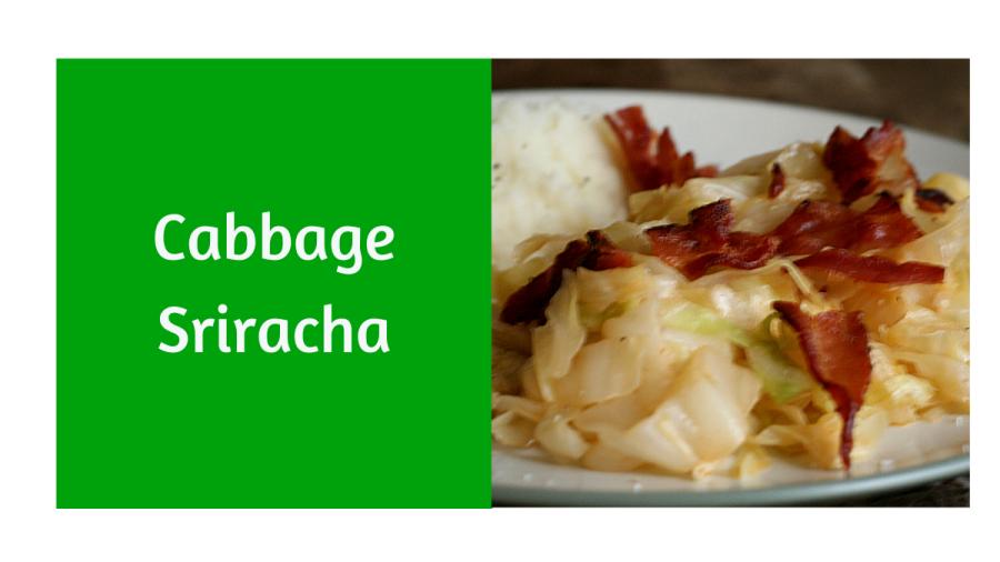Cabbage Sriracha