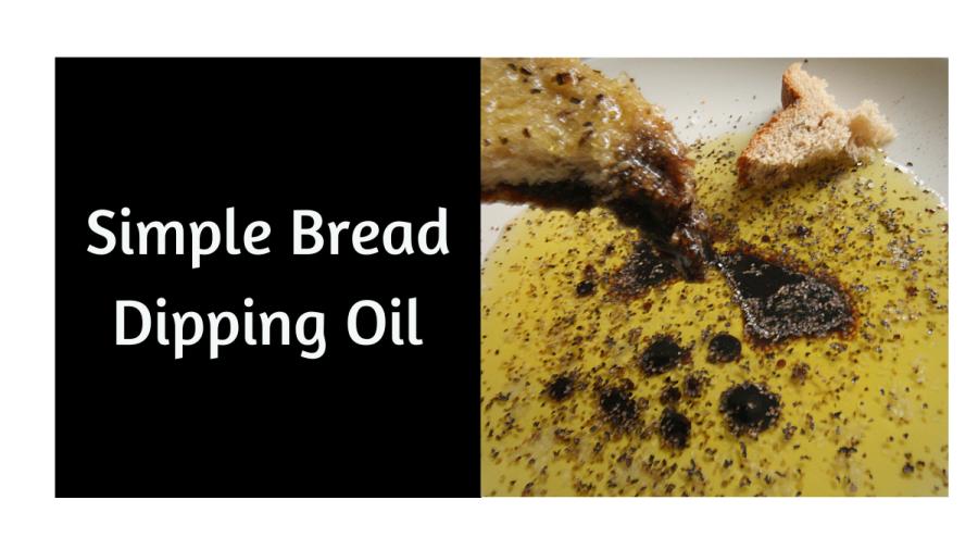 Simple Bread DippingOil