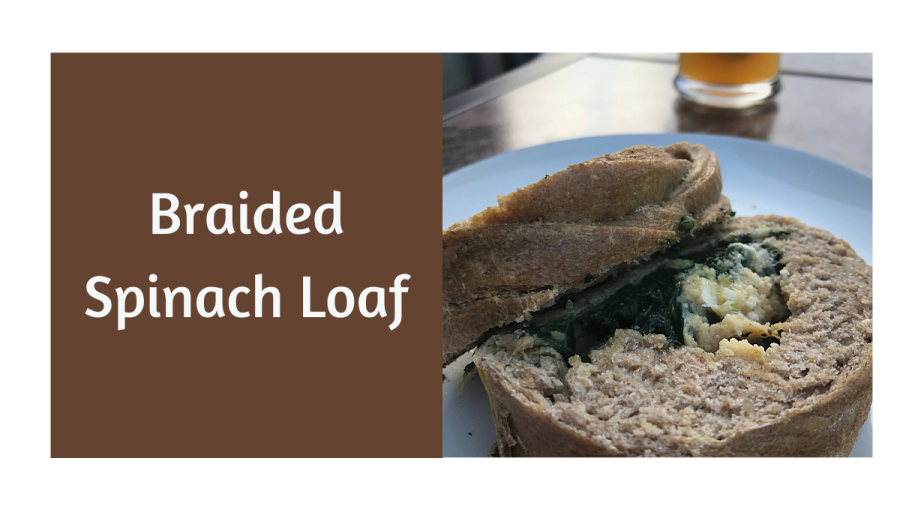 Braided Spinach Loaf