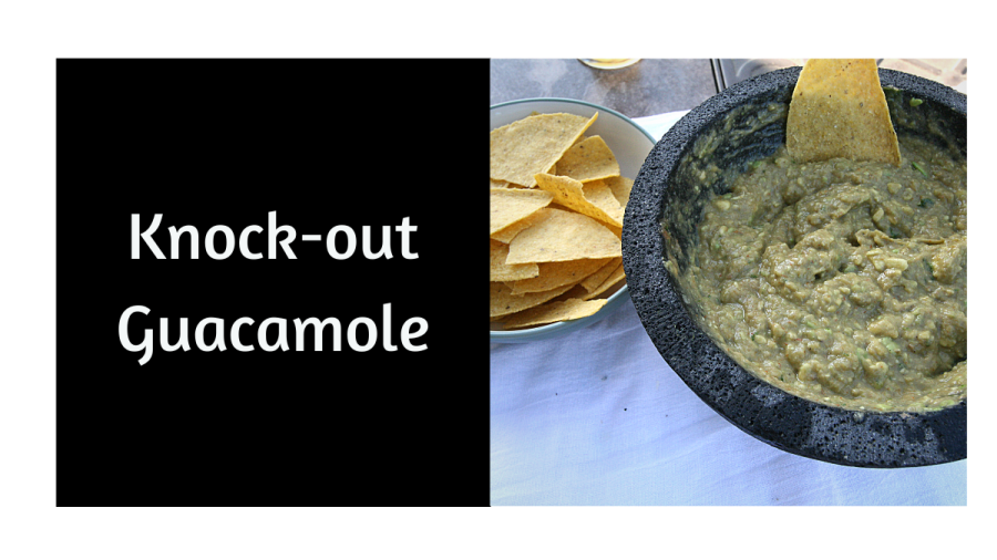 Knock-Out Guacamole