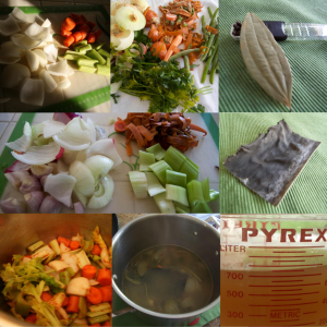vegetable stock variations and preparation at a glance.