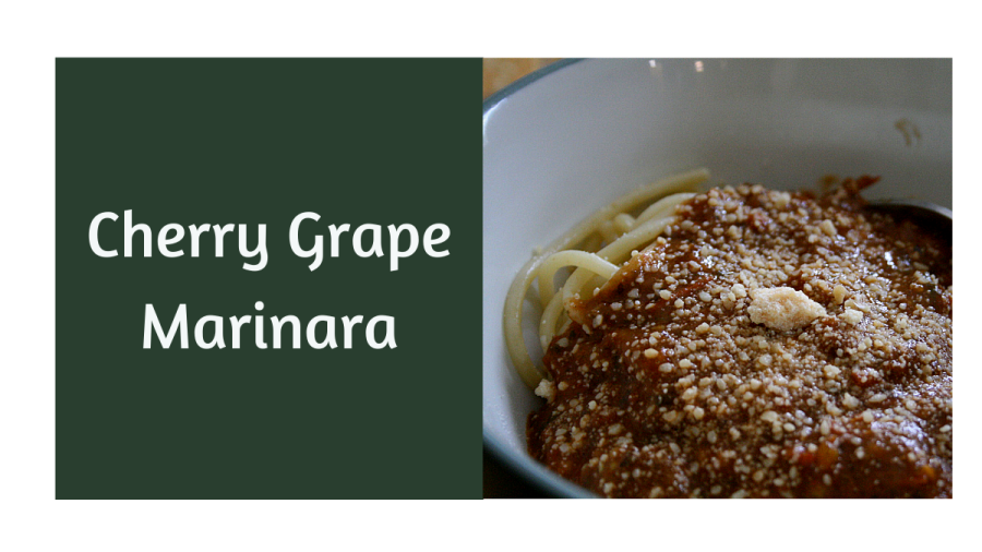 Cherry Grape Marinara