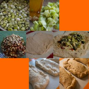 Leek & Spinach Stuffed Bread at a glance.