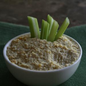 Hummus, chunky style.