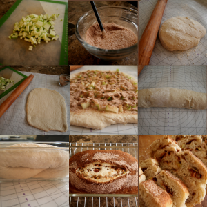 Apple Cinnamon Bread at a glance.